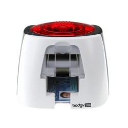 Evolis Badgy200 sistema de tarjeta de identificación - Single-Sided